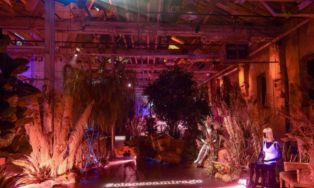 Ciao Sea Rustic Fashion Show With Trees