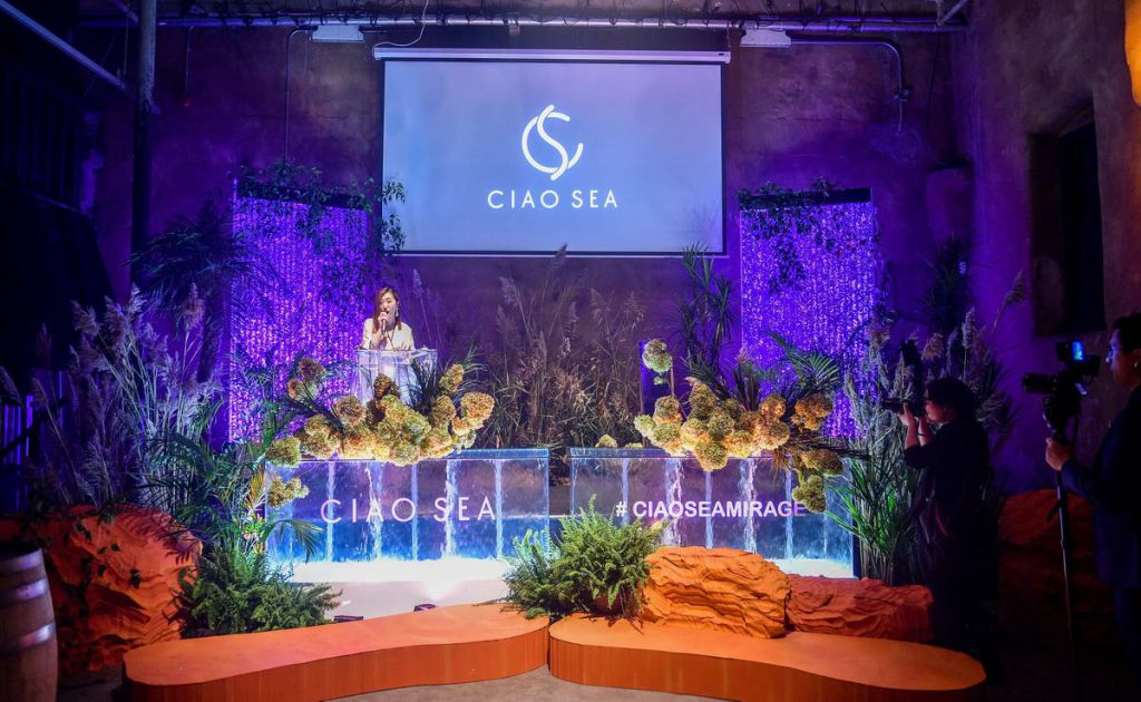 Ciao Sea Stage Set up Design