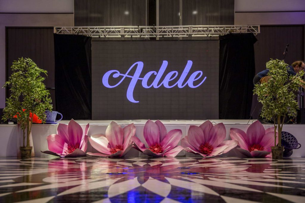 Adele Event Stage