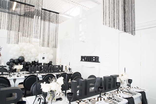 Event Decor Black & White