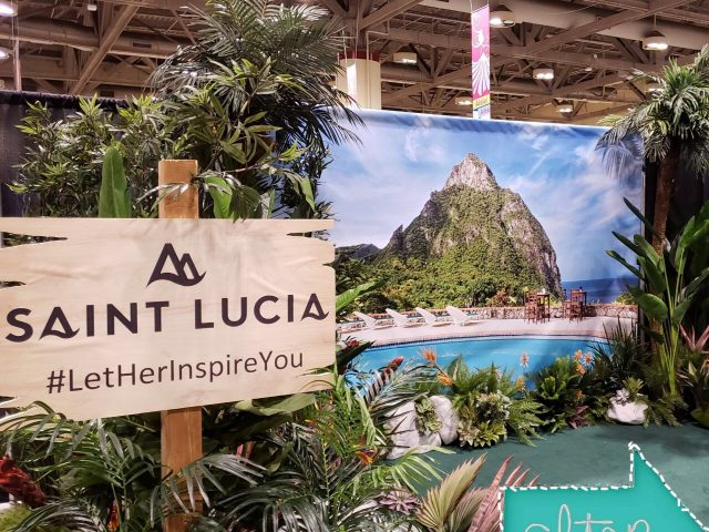 Saint Lucia - Booth Design