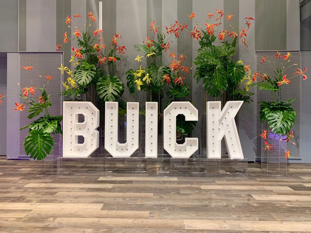 3D Sign Buick