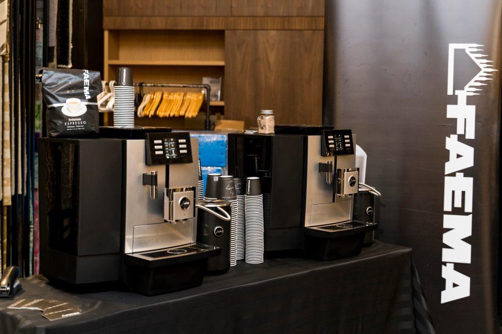 corpoerate event coffe machine service