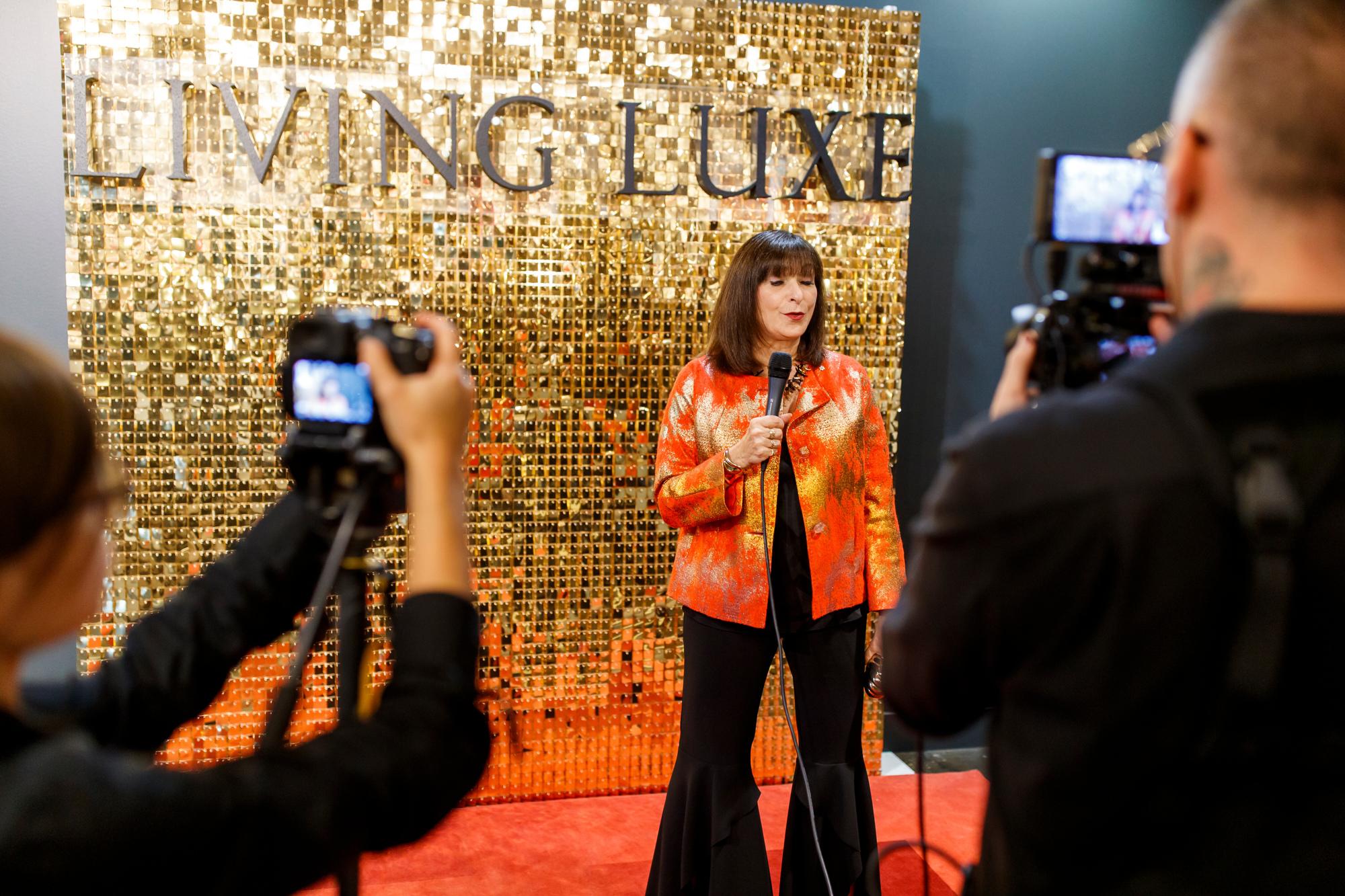 luxury magazine launch event