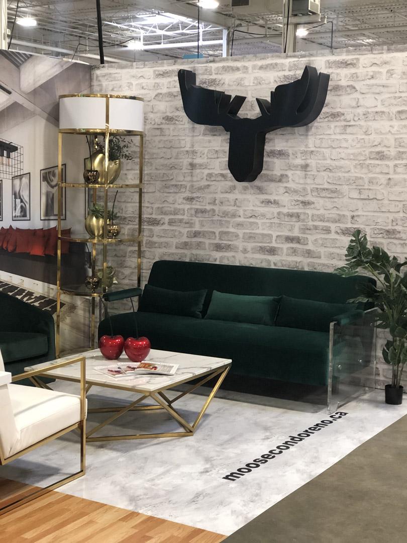 Award Winning Booth Design & Setup – Moose Basements